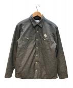 ROTAR(ローター)の古着「中綿シャツジャケット」 グレー