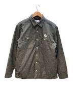 ROTAR(ローター)の古着「中綿シャツジャケット」|グレー