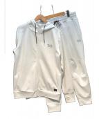 Billabong(ビラボン)の古着「ACTIVE JERSEY ZIP/セットアップジャージ」|ホワイト