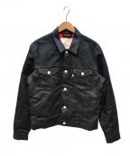 LEVI'S(リーバイス)の古着「デニムジャケット」 ネイビー