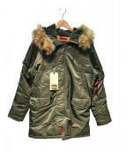 ALPHA(アルファ)の古着「N-3Bタイプコート」|オリーブ