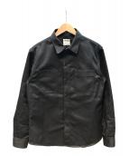 KOJIMA GENES(コジマジーンズ)の古着「ワークシャツ」 ブラック