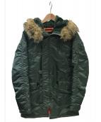 ()の古着「N-3Bタイプコート」|オリーブ