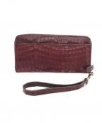 PELLE BORSA(ペレボルサ)の古着「長財布」 ブラウン