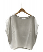 SOEJU(ソージュ)の古着「ショートスリーブコクーンブラウス」|ライトグレー