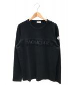 MONCLER(モンクレール)の古着「MAGLIA ロゴTシャツ」 ブラック