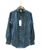 finamore(フィナモレ)の古着「シャツ」 ネイビー