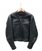 KADOYA(カドヤ)の古着「ライナー付ライダースジャケット」 ブラック