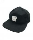 UNDEFEATED(アンディフィーテッド)の古着「キャップ」|ブラック