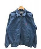 ()の古着「ジップジャケット」|ブルー