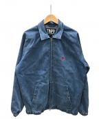 TIGHTBOOTH PRODUCTION(タイトブースプロダクション)の古着「ジップジャケット」|ブルー