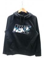 NIKE(ナイキ)の古着「サーマ DZL プルオーバーフーディ」|ブラック