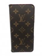 LOUIS VUITTON(ルイ ヴィトン)の古着「モノグラム・フォリオ スマホケース」