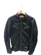 JACKROSE(ジャックローズ)の古着「レザージャケット」|ブラック