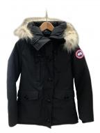 CANADA GOOSE(カナダグース)の古着「CHARLOTTE PARKA ダウンコート」|ネイビー