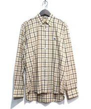 ETRO(エトロ)の古着「シアサッカーシャツ」|ベージュ