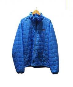 Patagonia(パタゴニア)の古着「ナノパフジャケット」|ブルー