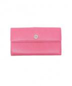 CHANEL(シャネル)の古着「2つ折り 長財布」|ピンク