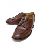 Lloyd Footwear(ロイド フットウェア)の古着「レザーシューズ」|ブラウン