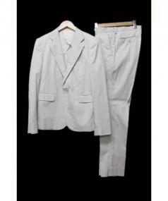 LAD MUSICIAN(ラッドミュージシャン)の古着「セットアップスーツ」 ホワイト