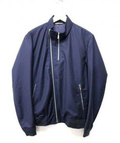DIOR HOMME(ディオールオム)の古着「ストライプ ジャケット」 ネイビー