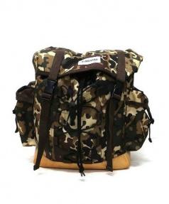 A.P.C.(アーペーセー)の古着「Big Backpack」|ブラウン