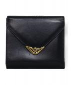 Cartier(カルティエ)の古着「2つ折り財布」|ネイビー