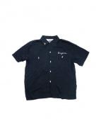 Dry Bones(ドライボーンズ)の古着「ボーリングシャツ」 ブラック