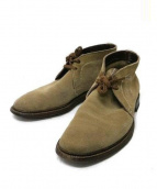 ALDEN×SHIPS(オールデン×シップス)の古着「チャッカー ブーツ」|ベージュ