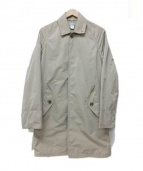 DELUXE(デラックス)の古着「ステンカラーコート」|ベージュ