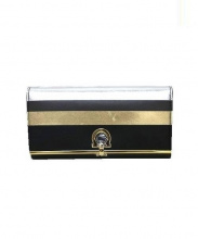 Salvatore Ferragamo(サルヴァトーレ フェラガモ)の古着「Nappa Leather Wallet 財布」|ブラック