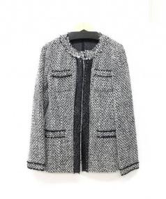 ARTISAN(アルチザン)の古着「ツイードジャケット」|グレー
