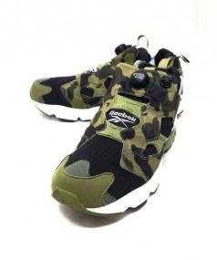 Reebok ×A BATHING APER x mita sneakers(リーボック×アベイシングエイプ×ミタスニーカー)の古着「INSTA PUMP FURY OG」|グリーン
