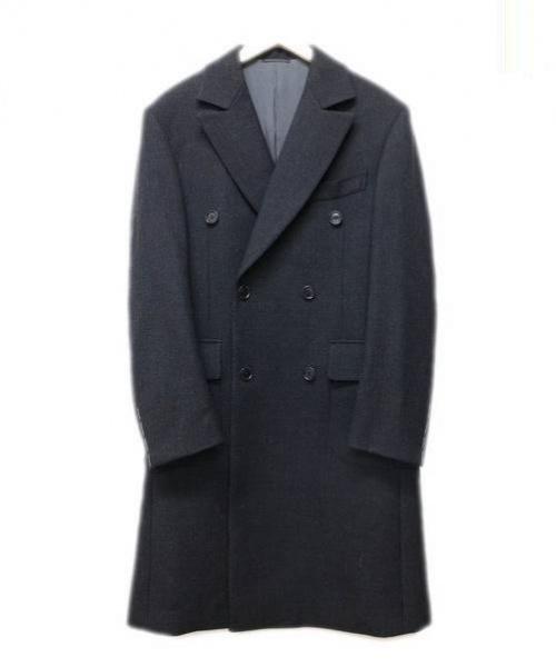 中古 古着通販 attire アタイア ポロコート ブラック サイズ 48 定価