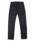 BURBERRY PRORSUM(バーバリープローサム)の古着「テーパードデニムパンツ」|ブラック