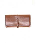 genten(ゲンテン)の古着「トスカ 長財布 」|ブラウン
