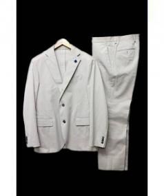 LARDINI(ラルディーニ)の古着「セットアップスーツ」|ベージュ