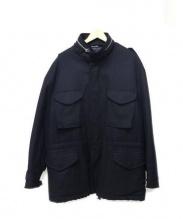 FENDI(フェンディ)の古着「カシミア混ウールジャケット」 ブラック