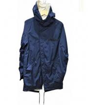 rehacer(レアセル)の古着「ナイロンフーテッドコート」|ネイビー