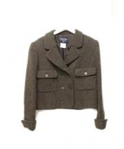 CHANEL(シャネル)の古着「ウールジャケット」|ブラウン