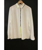ETRO(エトロ)の古着「シルクシャツ」|ホワイト