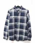 RonHerman(ロンハーマン)の古着「OVER CHECK COTTON SHIRT」|ネイビー