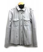 ABAHOUSE(アバハウス)の古着「シープスキンシャツジャケット」