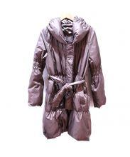 BUONA GIORNATA(ボナジョルナータ)の古着「リバーシブルダウンコート」|ブラウン