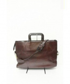 GOLD PFEIL(ゴールドファイル)の古着「オックスフォードビジネスバッグ」|ブラウン