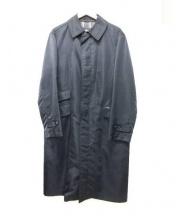 Burberrys(バーバリーズ)の古着「ライナー付ステンカラーコート」 ブラック