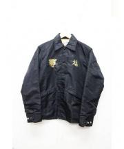BEAMS(ビームス)の古着「ベトナムコーチジャケット」 ブラック