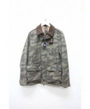 JACOB COHEN(ヤコブコーエン)の古着「フィールドジャケット」 グリーン