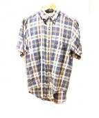 COMME des GARCONS SHIRT(コムデギャルソンシャツ)の古着「チェックシャツ」|ネイビー×ピンク