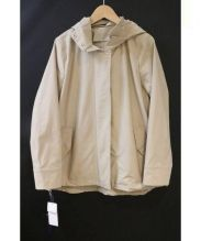 CARA O CRUZ(キャラオクルス)の古着「撥水加工フーデッドジャケット」|ベージュ